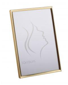 Slät Metall Guld 10x15