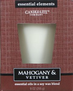 Essential 9 oz/255g Mahogany & Vetiver