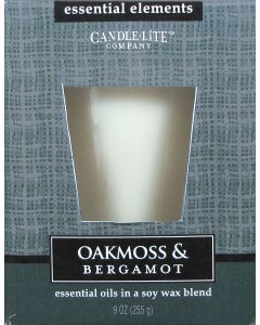 Essential 9 oz/255g Oakmoss & Bergamot