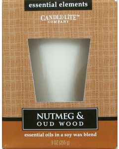 Essential 9 oz/255g Nutmeg & Oud Wood