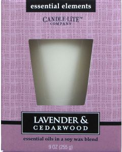 Essential 9 oz/255g Lavender & Cedarwood