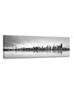 Tavla Canvas 32x100 Skyline