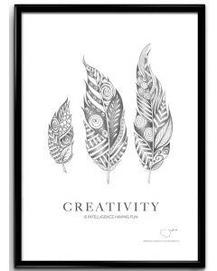 Konstblad 30x40 Creativity