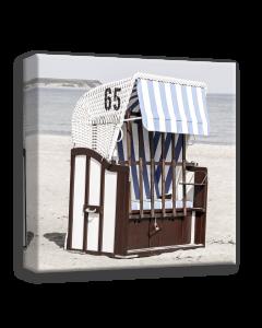 Tavla Canvas 50x50 Beach 2