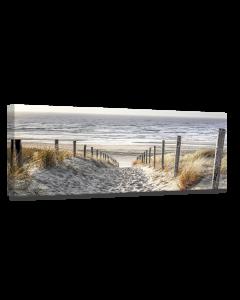 Tavla Canvas 45x140 Warm Sand