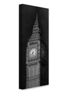 Tavla Canvas Silver 45x140 Big Ben