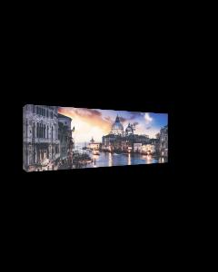 Tavla Canvas 60x150 Blue Venice