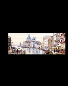 Tavla Canvas 32x100 Venedig Grand Canal