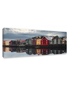 Tavla Canvas 60x150 Trondheim