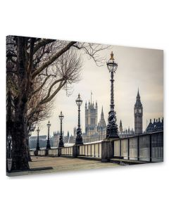 Tavla Canvas 75x100 London Westminister