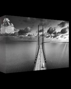 Tavla Canvas 75x100 Öresundsbron