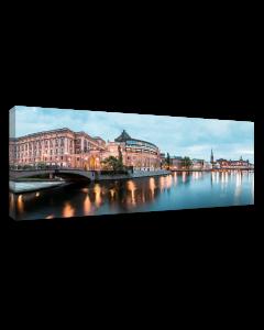 Tavla Canvas 60x150 Swedens Parliament