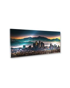 Tavla Canvas Silver 60x150 Los Angeles