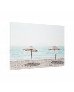 Tavla Canvas 75x100 Warm Beach