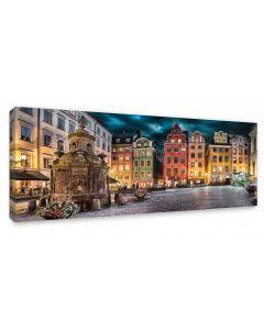 Tavla Canvas 60x150 Stockholm Old Town