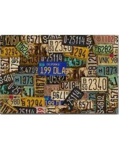 Tavla Canvas Car Signs 80x100
