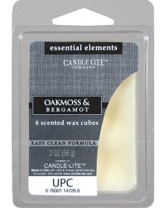Essential 2 oz/56g Wax Cubes Oakmoss & Bergamot