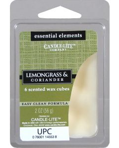 Essential 2 oz/56g Wax Cubes Lemongrass & Coriander