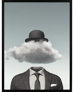 Poster 30x40 Pastell Cloud Hat (planpackad)