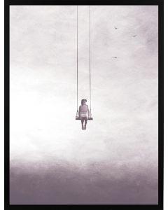Poster 30x40 Pink Sky Swing (planpackad)