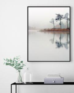 Poster 30x40 Nature Lake (planpackad)