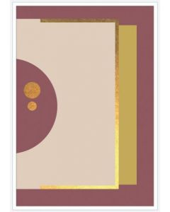 Poster 30x40 Abstract Art No 2 (Planpackad)