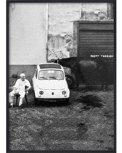 Poster 42x59,4 A2 Passo Carrabile