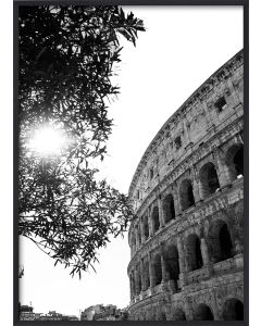 Poster 42x59,4 A2 When in Rome