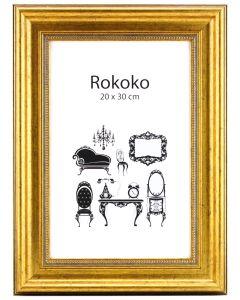 Rokoko Guld 100x140 Plexiglas