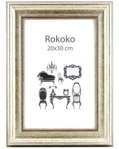 Rokoko Silver 100x140 Plexiglas