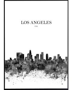 Poster 50x70 S3 Los Angeles (planpackad)